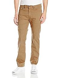 Levi's 男式 505 常规版型斜纹裤