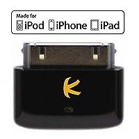 KOKKIA i10s(黑色):适用于iPod/iPhone/iPad的微型蓝牙iPod转换器。适用于Apple AirPods。即插即用。