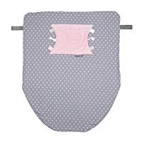 The Cheeky Blanket - Polka Dot Pink