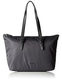 BREE Barcelona 女士尼龙大手提包 18,W17,灰色,46 x 15 x 29厘米