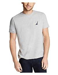 Nautica 男士短袖 * 纯棉经典标志系列图形 T 恤
