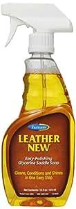 Farnam Leather 全新易抛光甘油鞍状肥皂 Pint