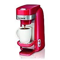 Hamilton Beach 汉美驰 单杯制备咖啡机, FlexBrew 红色 (49960)