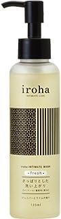 iroha 私處清潔液 新鮮 杜松和酸橙香味 混有薄荷醇