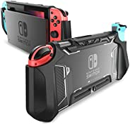 Mumba 可托放 Nintendo Switch 手機殼 TPU Grip 保護套 兼容 Nintendo Switch 游戲機和 Joy-Con 控制器MBA-Nintendo-Switch-Blade-Green