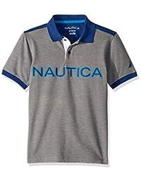 Nautica 诺帝卡 男孩短袖 Heritage Polo 衫