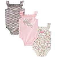 Calvin Klein 女婴 3 件连体服
