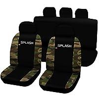Lupex Shop Splash N. MCL 座椅套双色,黑色/迷彩经典