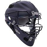 Schutt Sports Air MAXX 曲棍球风格捕手头盔带钢面罩哑光*蓝