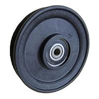Fenner Drives RA2701 PowerMax 5/32 英寸电缆滑轮,玻璃加固尼龙,17 毫米内径,2.75 毫米外径,2.475 毫米宽