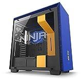 NZXT H700i 忍者限量版中塔电脑壳 蓝色/黄色 (CA-H700W-NJ)