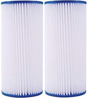 2 件装适用于 HDX4PF4 褶皱高流量全屋滤水:减少沉积物 - 由 IPW Industries Inc. 生产的 30 微米滤水器。