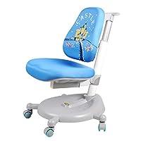 生活诚品 儿童学习椅 儿童桌靠背椅 儿童椅 儿童升降椅 学生椅AU609B(蓝色)【亚马逊自营,供应商配送】