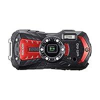 Ricoh WG-60 防水数码相机(红色)