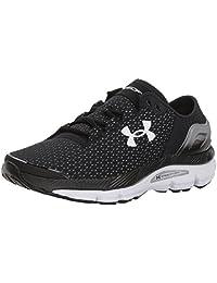 Under Armour Women's Ua W Speedform Intake 2 Competition Running Shoes, Black (Black/Steel/White), 6 UK
