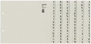 Leitz 利市 13240085 寄存器 A-Z A4 纸 纸 适用于 24 文件夹 灰色