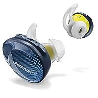 Bose SoundSport Free 真无线蓝牙耳机 午夜蓝配柠檬黄 无线运动耳机