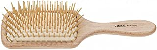 Jäneke 带刺激触点的身体刷,由木制山毛榉制成,气动机制,白色 - 119 克