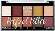 NYX Professional Makeup 眼影盤,Perfect Filter Shadow Palette,10款眼影色調,Rustic Antique 02,17,7克