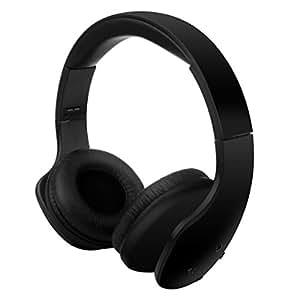 蓝牙耳挂式耳机,Dotca HSK01 无线耳机带降噪,可折叠,支持电话音乐播放器适用于手机/PC/Mac/笔记本电脑/蓝牙设备 HSK01 HSK01/Black