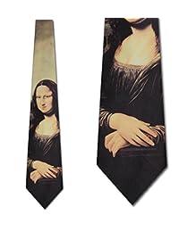 蒙娜丽莎扎匝列奥纳多·达·芬奇 neckties 来自三 rooker