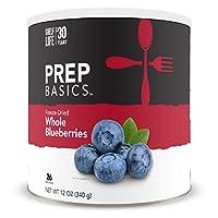 Prep Basics 凍干全藍莓 | 緊急食品供應 | 1,170 卡路里 | 26 總克蛋白質 | 長達 30 年保質期 | 無 10 罐