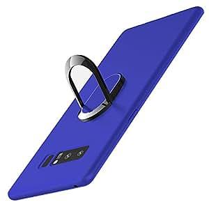 NOTE8手机壳 Samsung Galaxy Note 8TPU 磁性吸盘戒指搭扣 BRACKET 品牌覆盖中性款 samsungnote 8 蓝色