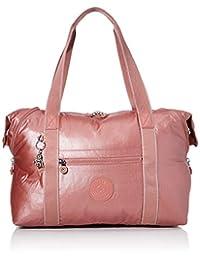 Kipling Art M 帆布和沙滩手提包,58 厘米,26 升,红色(金属锈色)