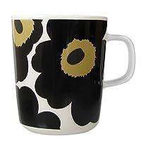 MARIMEKKO 馬克杯 Unikko 罌粟印花 063431 250毫升 7種顏色 黑色 白色 250ml 63431 030