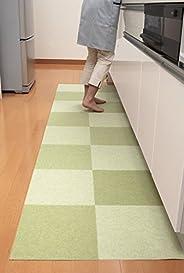 Sanko * 接头瓷砖地垫平底 不移位。 只吸附 30×30cm 绿色 無し KD-33