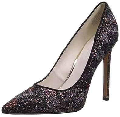 Kenneth Cole New York 女士 Riley 110 毫米细高跟鞋 紫色/多色 6 M US
