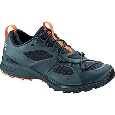 Arc teryx 男 跑步鞋 Norvan VT GTX Shoe 20414-9.5 深蓝色/信号 43.5 (US 9.5)