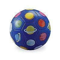 Crocodile Creek 太阳能系统足球,蓝色/红色/绿色/黄色/橙色/粉色,3 码
