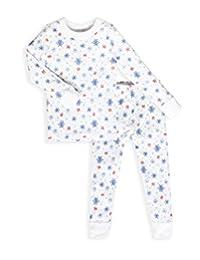 Skylar Luna Boys 长袖睡衣套装 - * 柔软有机土耳其棉