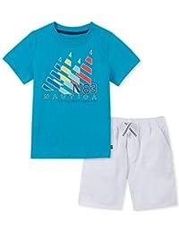 Nautica 套装 (KHQ) 男孩 2 件短裤套装