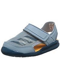 adidas kids 阿迪达斯童鞋 中性童 户外运动凉鞋 FortaSwim C AC8254