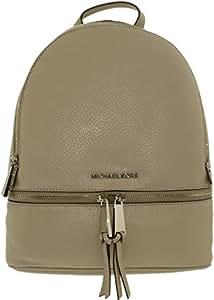 Michael Kors 迈克·科尔斯 RHEA ZIP 女式 双肩背包 30S5SEZB1L-092 水泥灰 均码