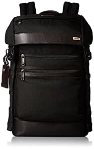 TUMI 塔米 Alpha Bravo 休闲背包, 40 cm, 15 L, 黑色 (Hickory)