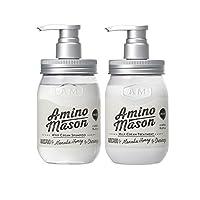 Amino Mason 氨基研 升级氨基酸头皮护理滋养洗护套装 洗发水450ml 护发素450ml