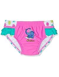 Playshoes 女婴游泳尿布 UV 保护保护尿布 老鼠花朵