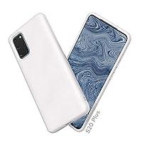 RhinoShield 三星 S20+ 手机壳 [纯色套装] 经典白色