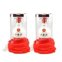 五粮液1618瓷瓶52度500ml*2(送礼袋)(gift box)
