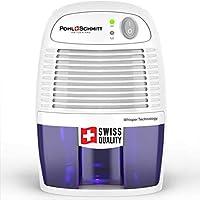 Pohl Schmitt 迷你*器,17盎司(约482毫升)水箱,超静音 - 小型便携式设计,适用于家庭、地下室、浴室和卧室 - 去除空气*,防止螨虫、霉菌
