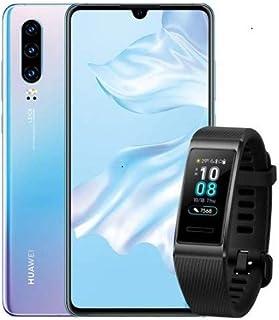 HUAWEI 华为 P30 套装产品 Breathing Crystal SIM 无锁版智能手机 + BAND 3 PRO/BK