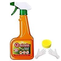 Mistolin 油污清洁剂厨房重油清洁油烟机清洗灶具去污去油环保545ml(进口)(亚马逊自营商品,由供应商配送)