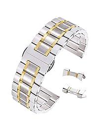 autulet 不锈钢 金色 CL.SBCS.JJ15.HY 表带