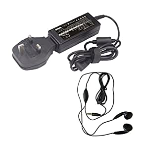 Amsahr 19 V 3.16 A 60 W 替换交流电源适配器带迷你鼠标 适用于 Acer PA 1500 02、PA 1600 02、91.41Q28.002 笔记本电脑