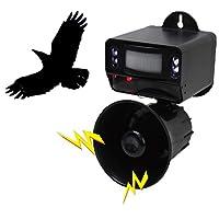 害鸟 对策 鸟类攻击鸟 感应 扬声器&闪光灯 遥控器 MES-37