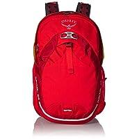 Osprey 中性 光线 Radial 26 红色 M/L 双肩背包 城市通勤骑行旅行日用网面透气背负自带防雨罩可拆卸腰带独立笔记本仓可放16寸15寸笔记本(两种LOGO随机发)【城市系列】