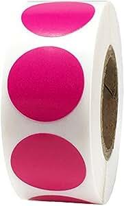 1.91 cm 圆形纯色 紫红色(Berry)